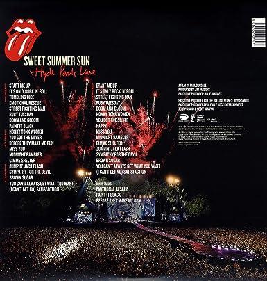 Sweet Summer Sun: Hyde Park Live [Alemania] [DVD]: Amazon ...