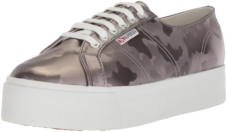 Superga Women's 2790 Armychromw Sneaker B077532QW2 39 M EU (8 US)|Grey
