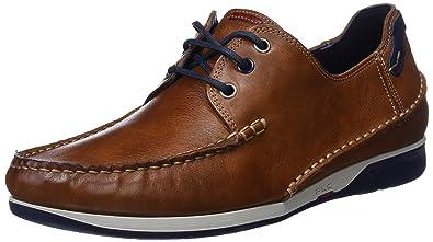 Fluchos James, Chaussures Bateau Homme, Marron (Marron), 43 EU