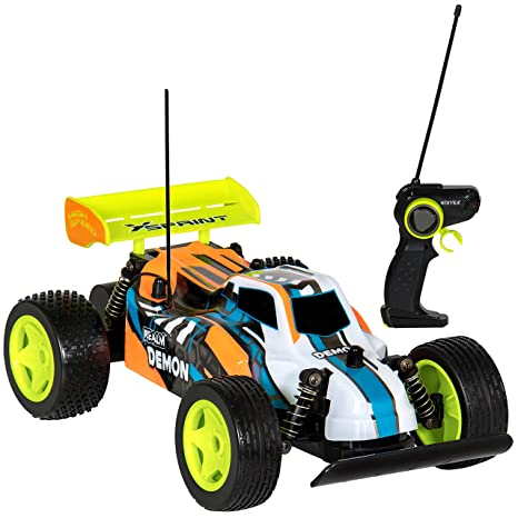 Amazon com: Best Choice Products Toy 1:16 27Mhz High Speed RC Buggy