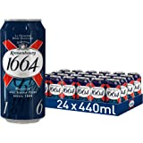Kronenbourg 1664 Lager Beer Cans, 24 x 440 ml