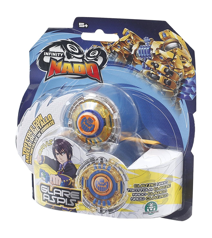 Giochi Preziosi Infinity Nado.Peonza de juguete Blast Flame (versión italiana) Glare Aspis Giochi Preziosi Italy NFF02700