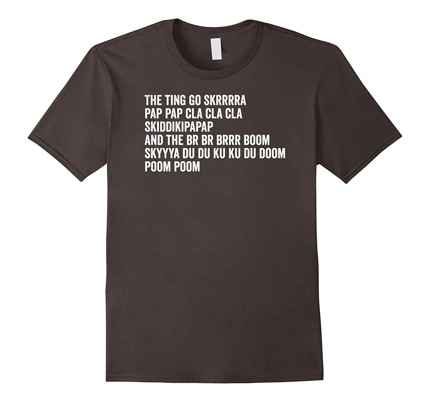 The Ting Go Skrrra T Shirt - Fire In The Booth Mans Not Hot-TJ