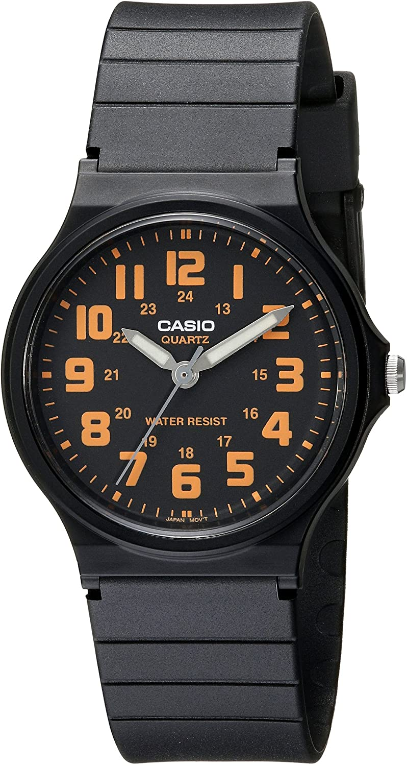 Casio Unisex MQ-71-4BCF Classic Luminous Hands Watch With Black Resin Band 81YtHOZ40vL