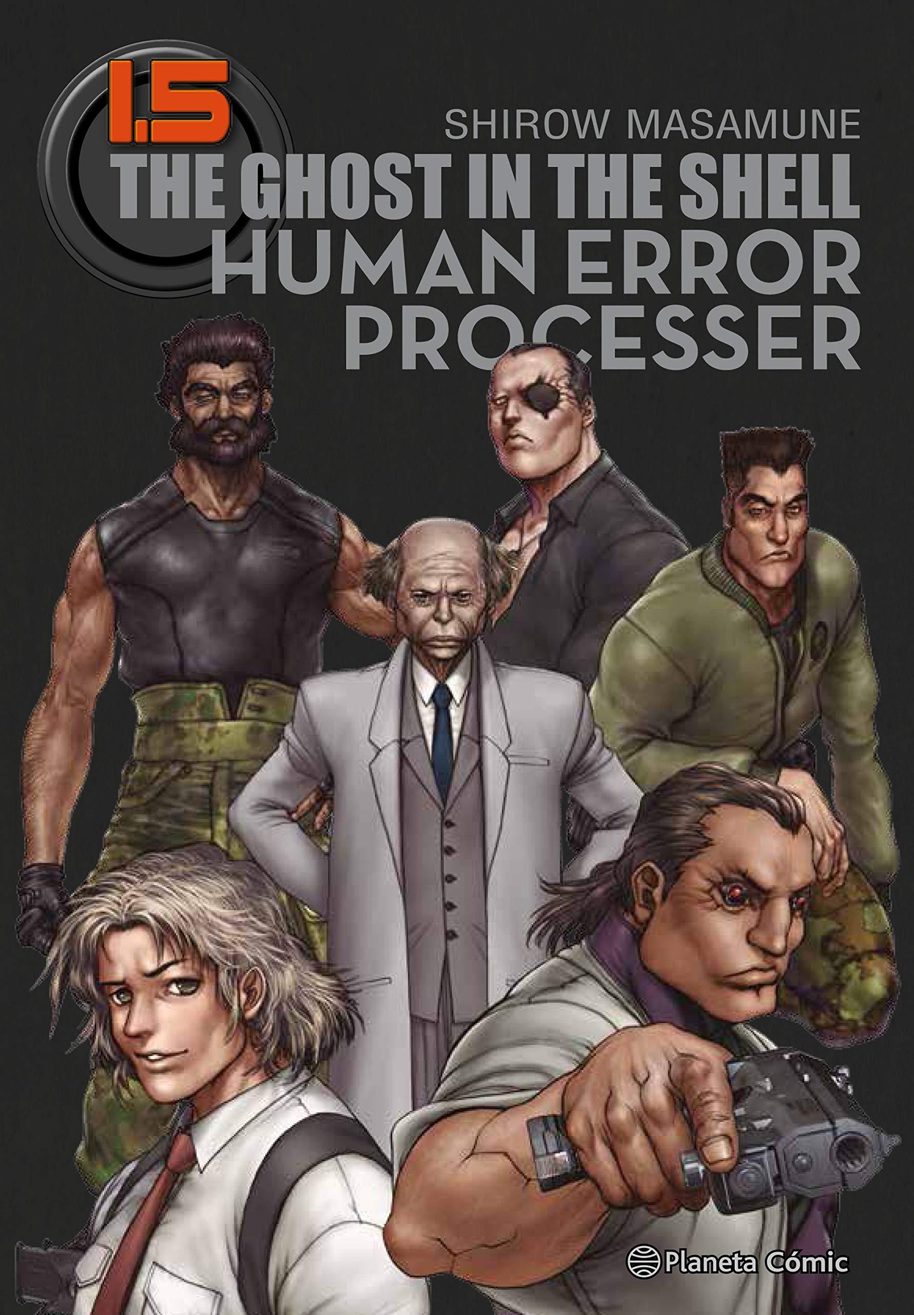 Ghost in the Shell 1.5 Trazado : Human Error Processer Manga Seinen: Amazon.es: Masamune, Shirow, Daruma: Libros