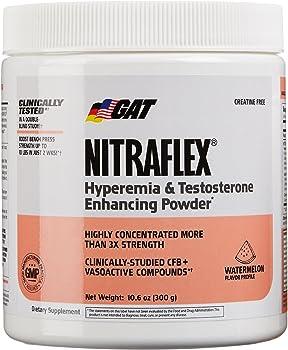 GAT Clinically Tested Nitraflex Testosterone