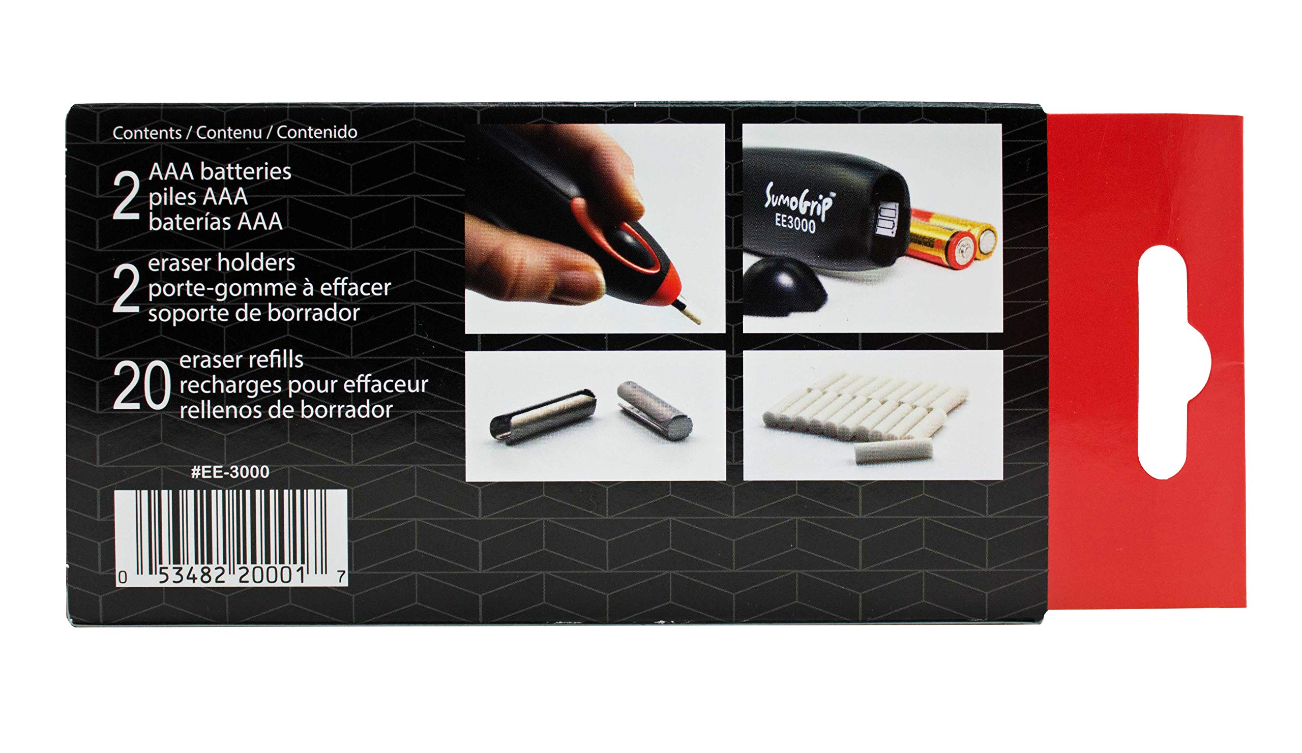 Sakura EE-3000 SumoGrip Electric Eraser Black by Sakura (Image #4)