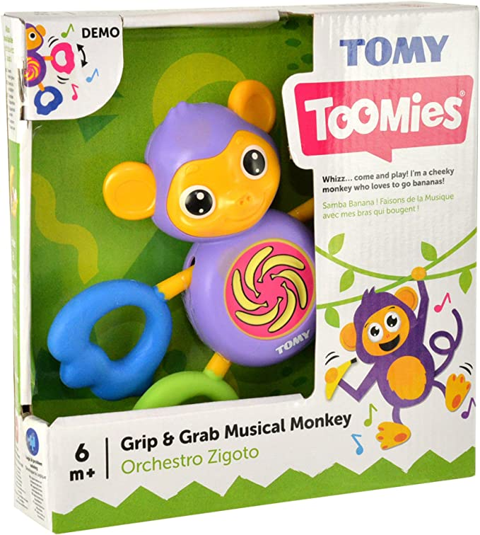 Tomy Infant - Mono Musical Espiral mágico (30692353): Amazon.es ...
