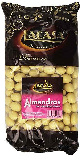 Lacasa - Divinos - Almendras con chocolate blanco - 1 kg