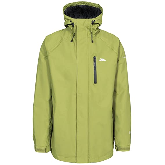 266ca43d4 Trespass Mens Pearson Waterproof Jacket: Amazon.co.uk: Clothing