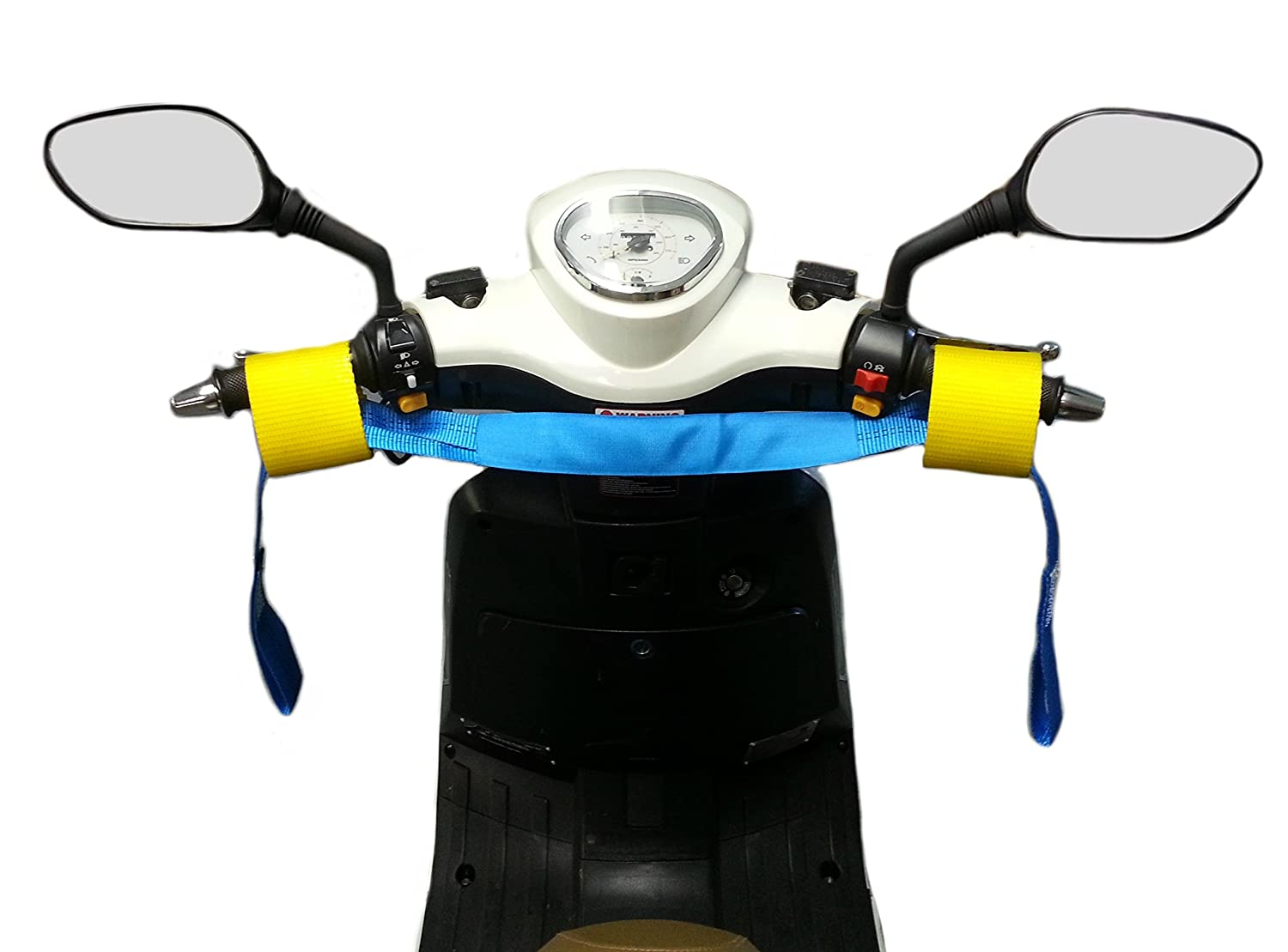 Amazon.com: Tie Down Straps Handle Bar Harness Trailer Scooter and  Motorcycle: Automotive