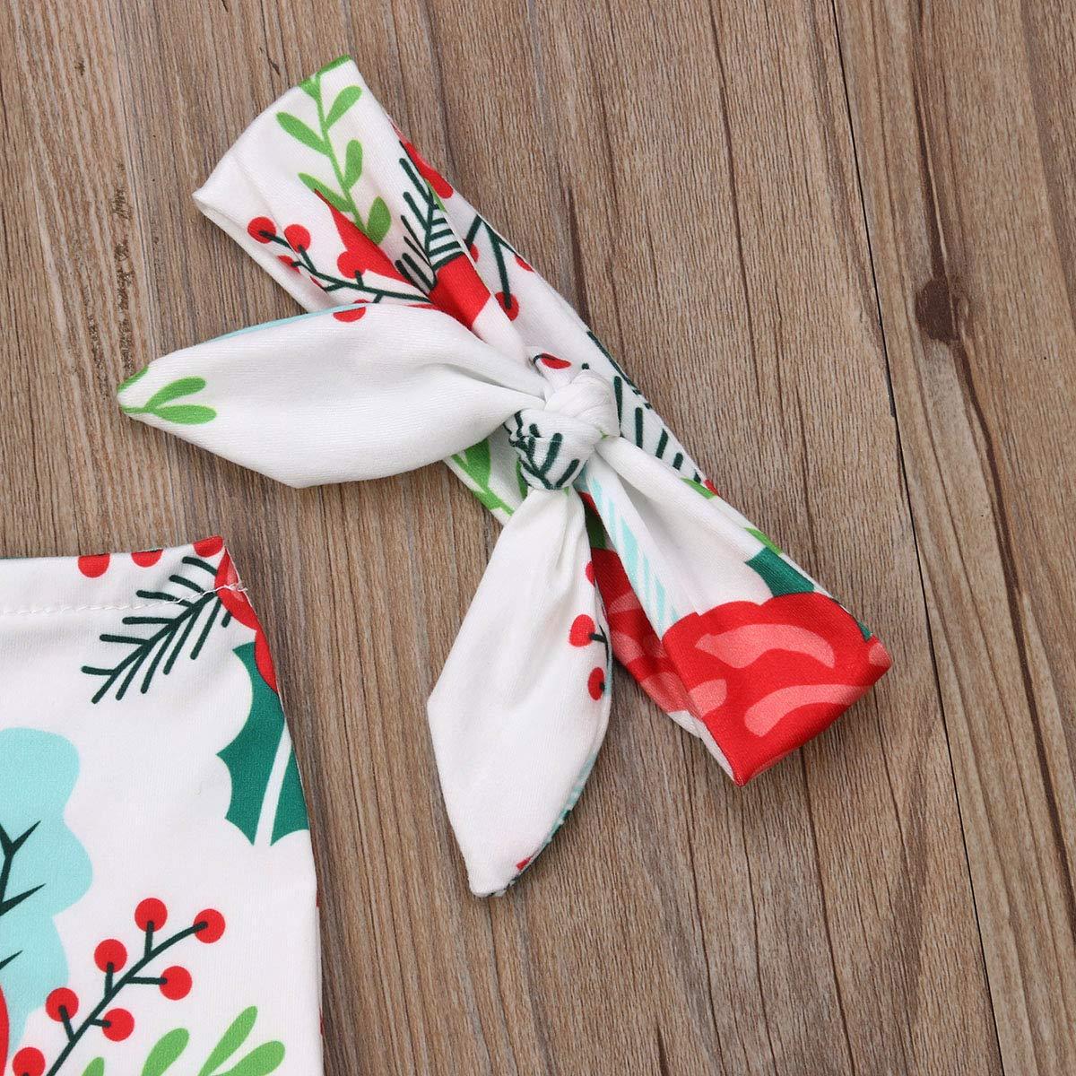 Baby Boy Girls Flower Gown Swaddle Sleeping Bag Reveiving Blanket Sleepers with Headband 0-3Months