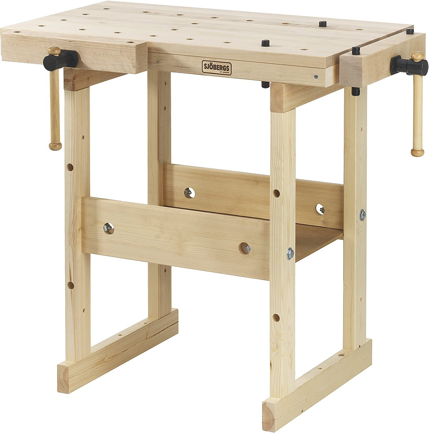 2. Sjobergs Hobby Plus 850 Birch Workbench SJO-33283