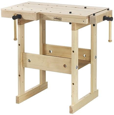 Incredible Sjobergs Hobby Plus 850 Birch Workbench Sjo 33283 Spiritservingveterans Wood Chair Design Ideas Spiritservingveteransorg