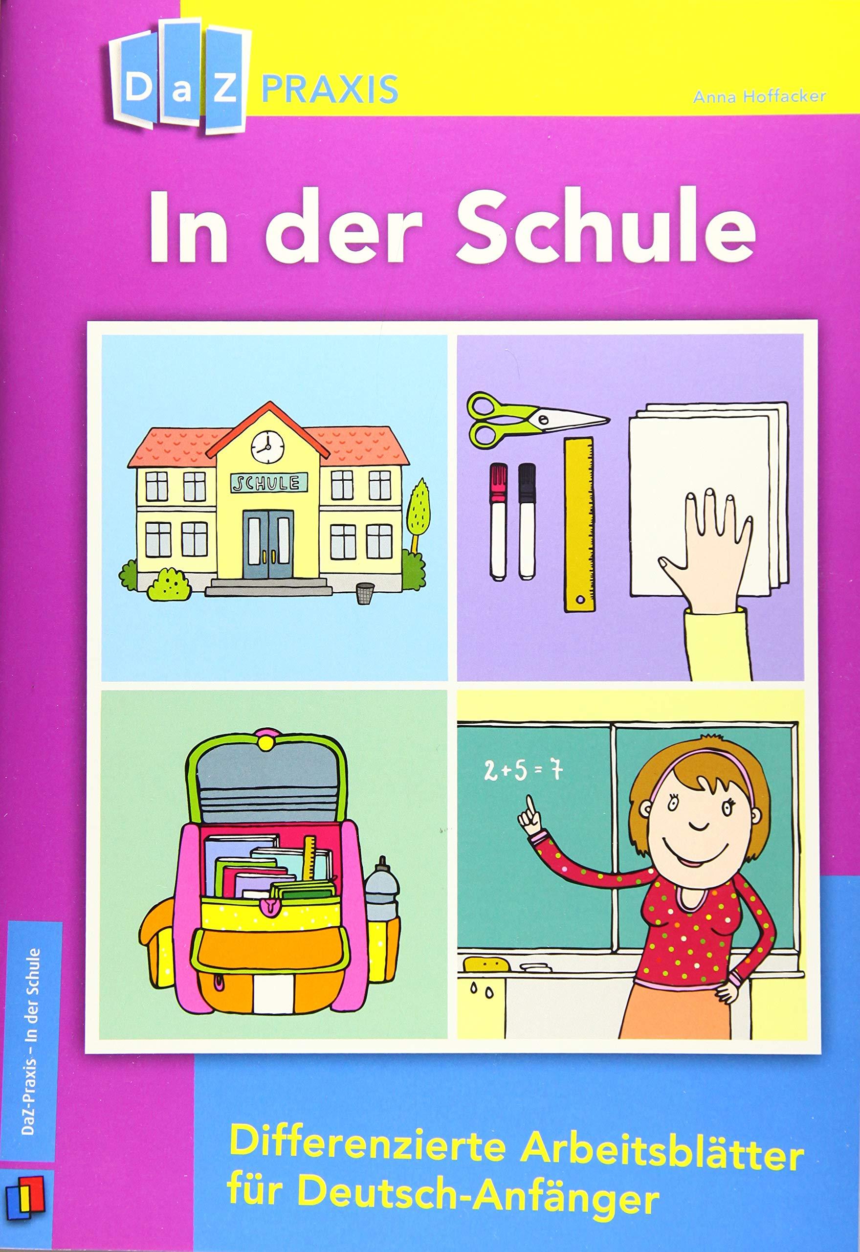 DaZ Praxis In der Schule – Differenzierte Arbeitsblätter für ...