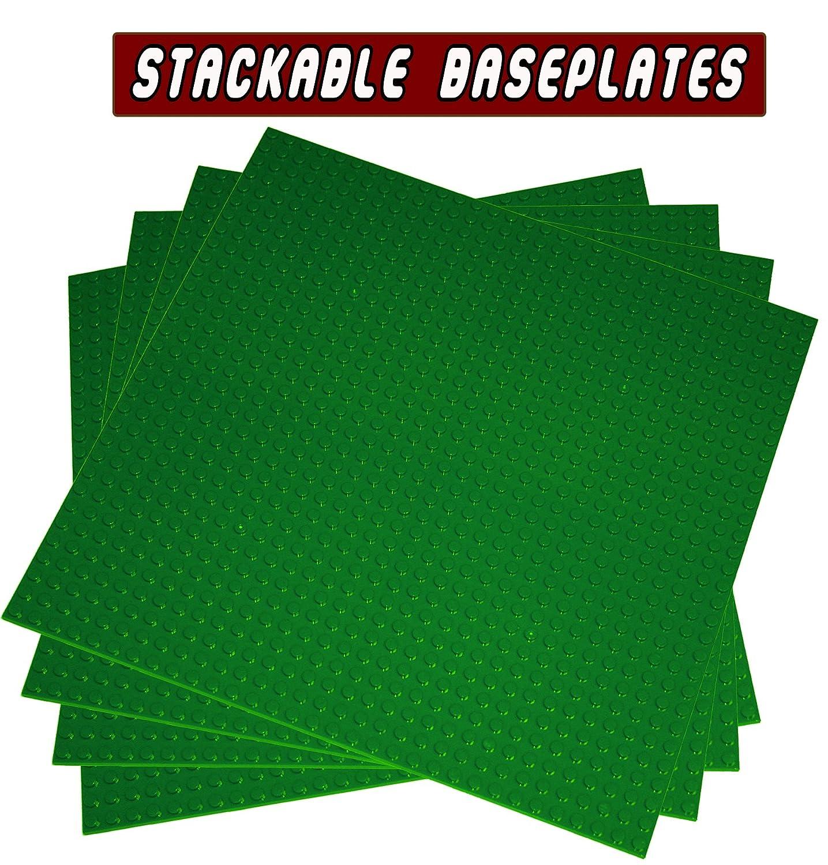 100 %品質保証 4アップグレード建物Baseplates、10 x 10インチLarge厚さのプレートベースアクティビティテーブルまたは表示(グリーン、ブルー –、グレー x、砂 – 4 4 -パック、アソートカラー) B075CVSMFH 4pc Green 4pc Green, ブランド楽市 蒲田駅前:100a67e7 --- dou13magadan.ru