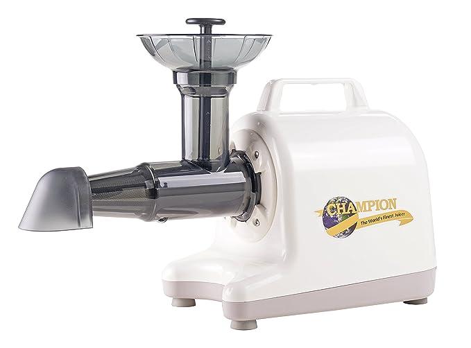 Champion Household Juicer 4000 Masticating Juicer (White)