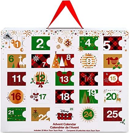 Tsum Tsum December 2020 Calendar Amazon.com: DISNEY TSUM TSUM PLUSH ADVENT CALENDAR   MICRO