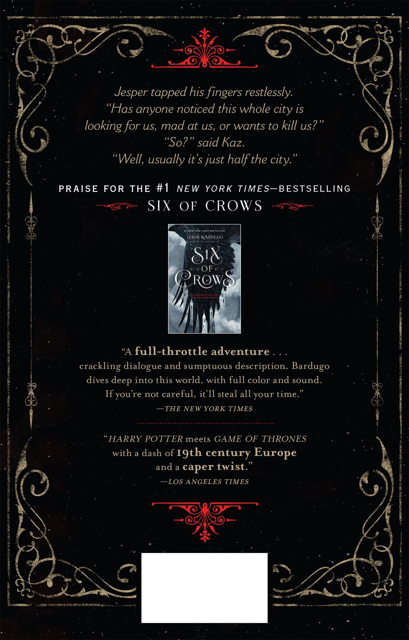 Amazon: Crooked Kingdom: A Sequel To Six Of Crows (9781627792134): Leigh  Bardugo: Books