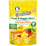 Amazon Price History for:Gerber Graduates Fruit and Veggie Melts, Truly Tropical Blend, 1 Ounce (Pack of 7)
