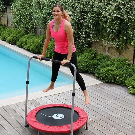 Cama elástica de Fitness - Minimax con Barra de sujeción - Francia ...