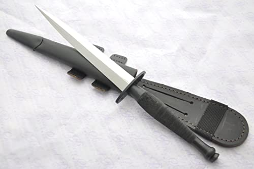 Genuine Authentic Second Pattern J Nowill Sons Fairbairn-sykes Black Commando Polished Blade Knife Sheffield England