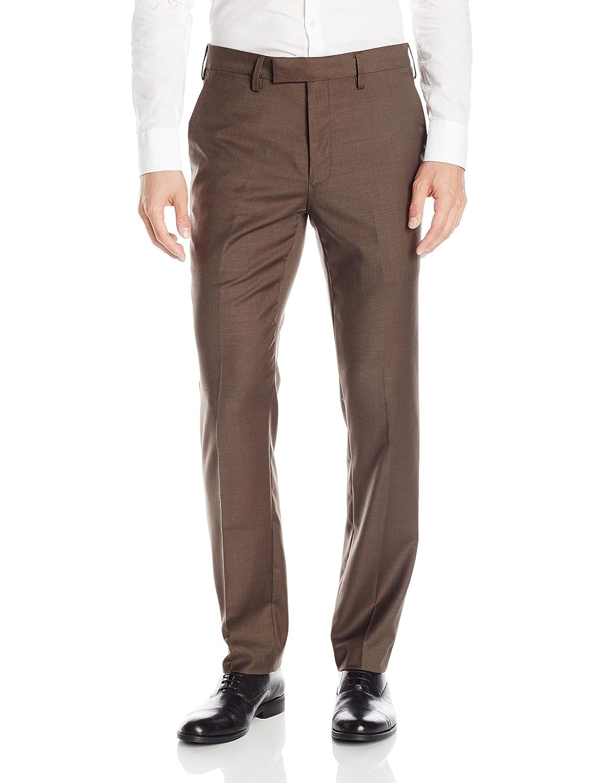 Louis Raphael Mens Slim-fit Wool-Blend Dress Pant B5551086