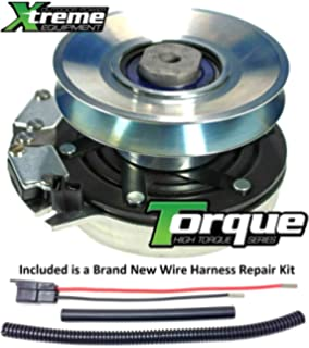 Xtreme Outdoor Power Equipment Bundle - 2 Items: PTO Electric Blade Clutch, Wire Harness