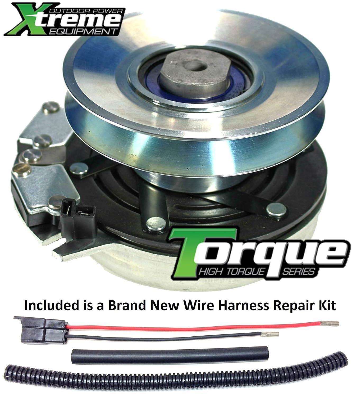 Lawn Mower Electric Clutch Adjustment : Clutch harness wire for john deere lawn mower wiring