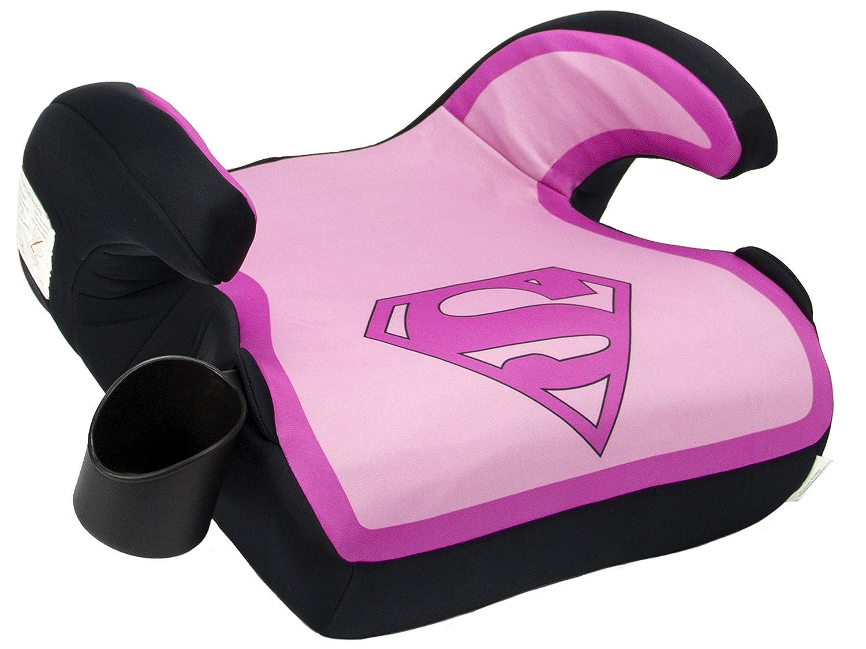 KidsEmbrace Wonder Woman Booster Car Seat DC Comics Youth Backless Blue 4801WWM
