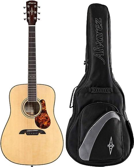 Alvarez MD60BG Masterworks - Guitarra acústica (incluye bolsa ...