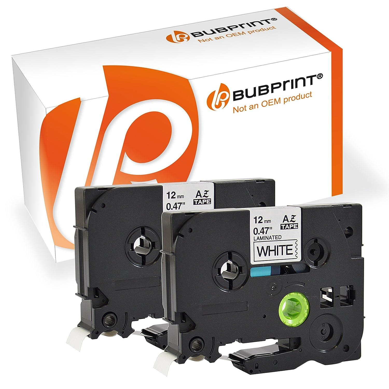 Bubprint 5 nastro a cassetta compatibile per Brother TZE231 TZ-231 e per P-Touch 900 1000 1005 1010 1080 1200 P 1280 3600 H-500 D 400 D 800 H75 H 110