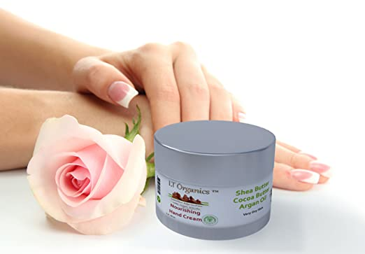 Best Natural Hand Cream For Dry Hands by LT Organics, Deep Moisturizing All In One Cream for Hands, Elbows and Heels & Anti Aging Cream Reverses Signs Of Aging