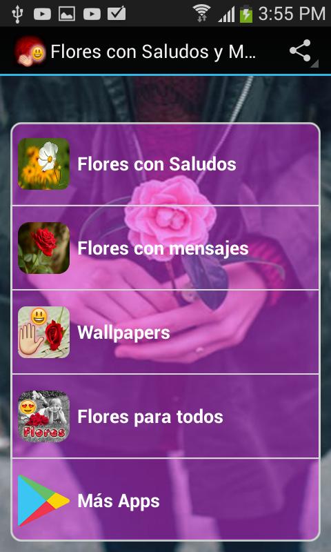 Amazon Com Flores Con Saludos Y Mensajes Appstore For Android