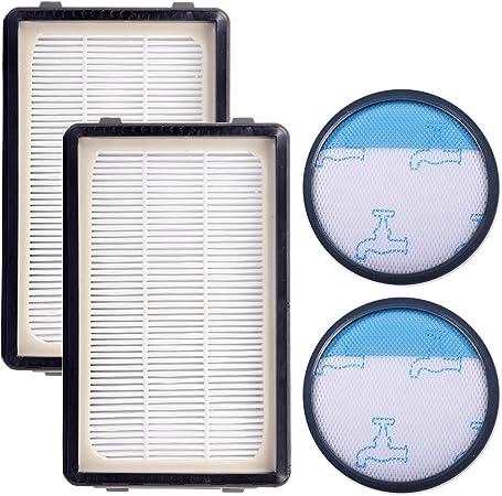 KEEPOW Kit de 2 Filtros HEPA y Espuma para Rowenta Compact Power ...