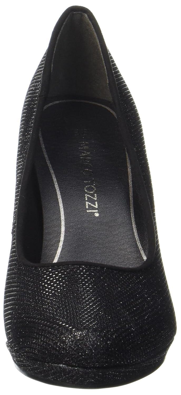 MARCO TOZZI Damen 22450 Pumps, Schwarz Metallic) (schwarz Metallic) Schwarz 82d16c
