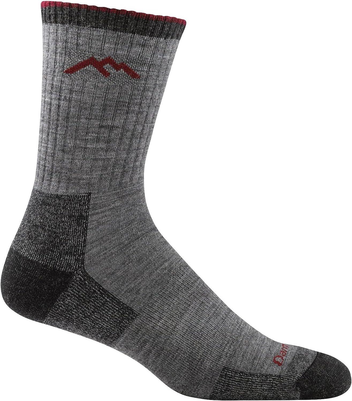 Darn Tough Mens Micro Crew Cushion Socks Made in USA 1466