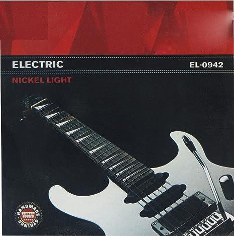 Rocket EGSTLSET - Juego de cuerdas para guitarra eléctrica de ...