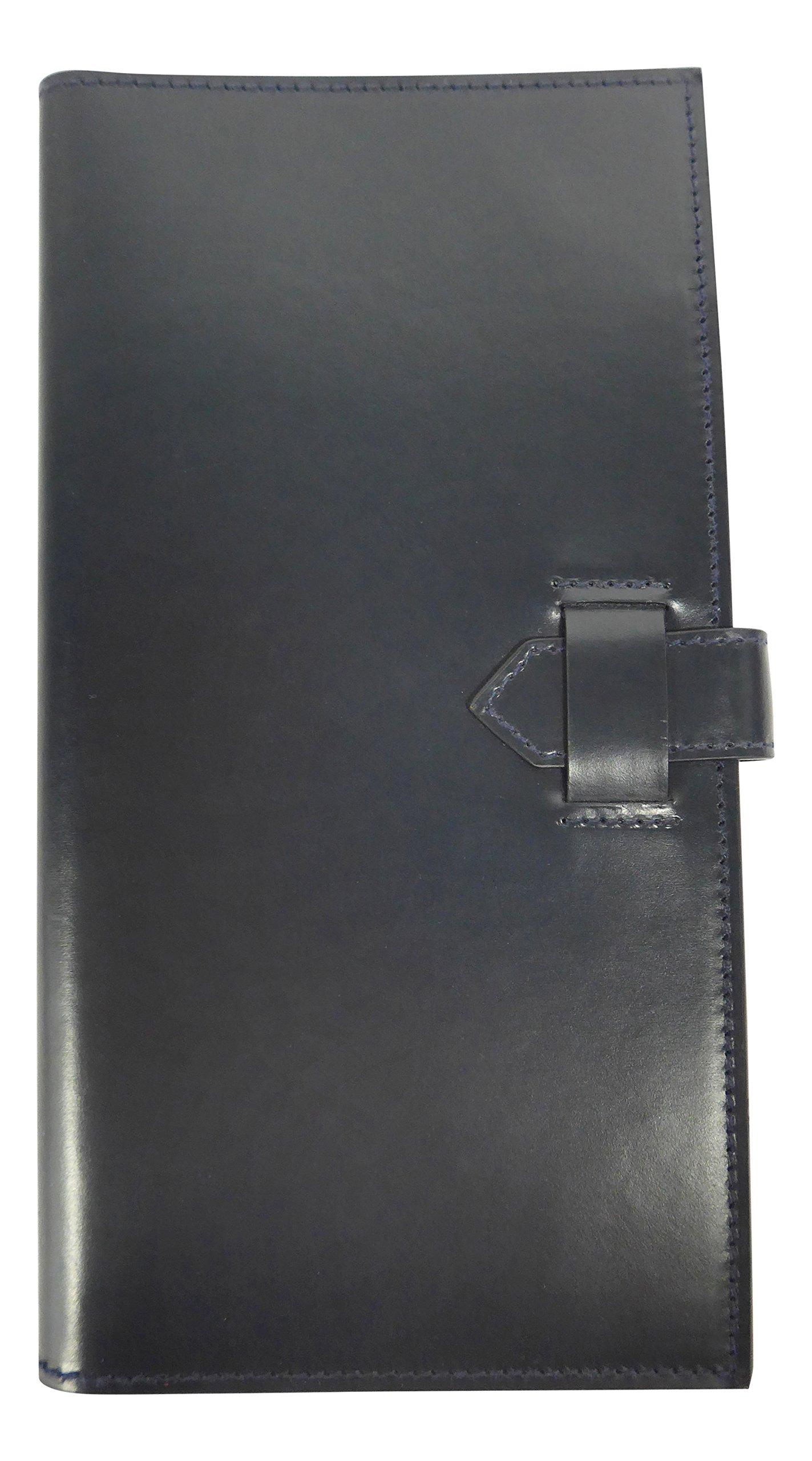 W & H Gidden Men's Travel wallet Navy