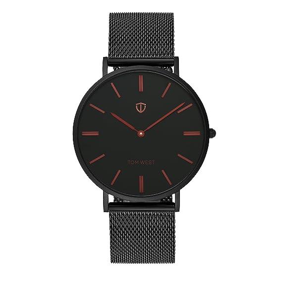 Tom West – Reloj Hombre – la Elégante – Red Wine Edition