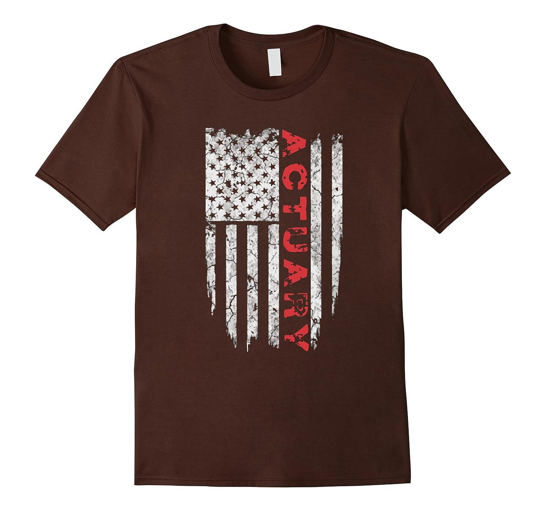 American Actuary T-Shirt Proud Actuary USA Tee Shirts-PL
