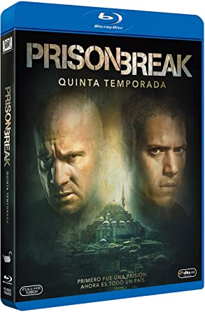 Prison Break Event Series Temporada 5, Blu-Ray Blu-ray ...