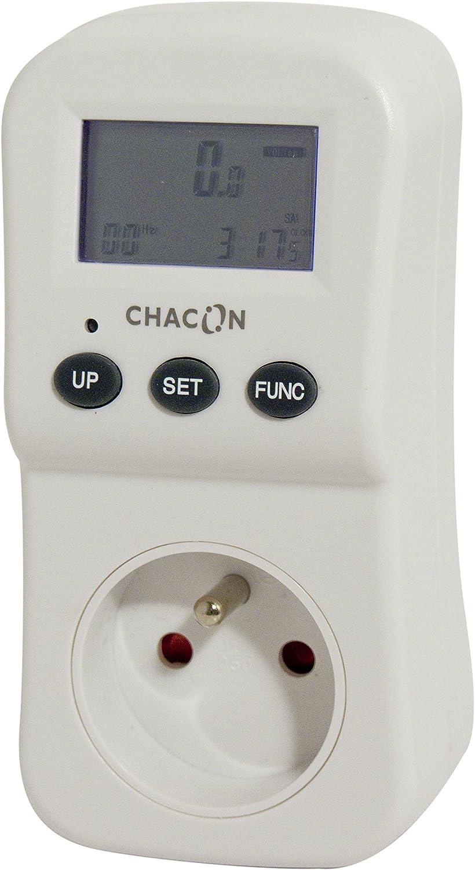 Chacon 54355 5411478543558 d/électricit/é Compteur de consommation ecowatt 550 fr Blanc