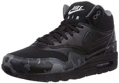 Max Mode Nike FbBaskets Noirblackblackcool Mid 1 Homme Air hxdtrsCQ