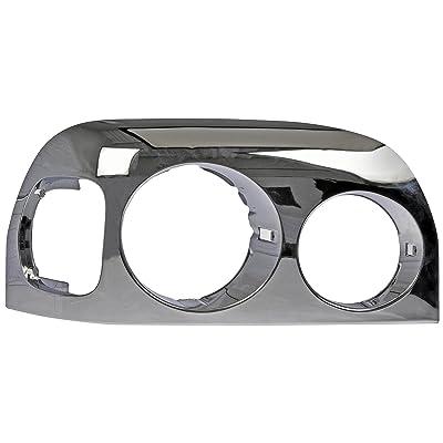 Dorman 889-5212 Heavy Duty Right Headlight Bezel, Chrome: Automotive [5Bkhe1511147]