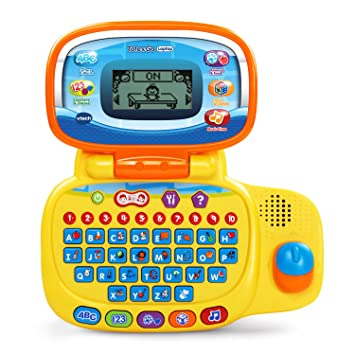Amazon Com Vtech Tote And Go Laptop Toys Games