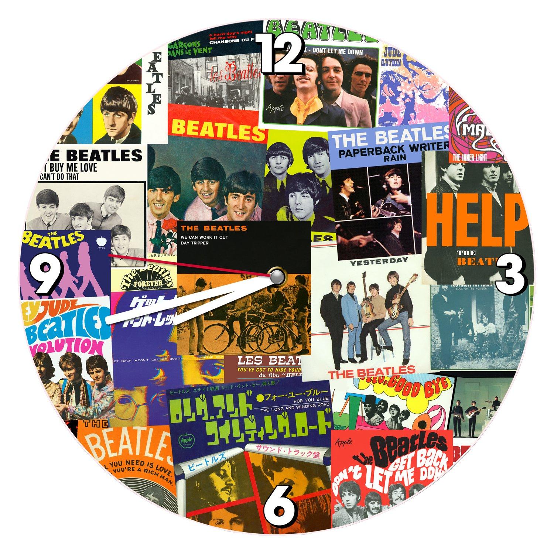 Amazon Vandor The Beatles 135 Inch Cordless Wall Clock
