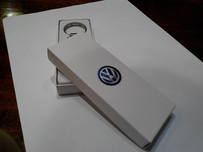 Amazon.com: Original Volkswagen llavero colgante de plata ...