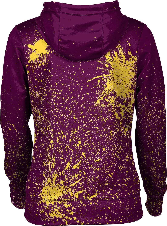 ProSphere Bloomsburg University Womens Pullover Hoodie Splatter School Spirit Sweatshirt