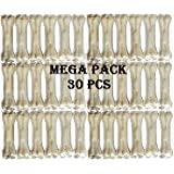 Pets Empire Rawhide Pressed Chew Dog Bone Mega Pack 3 Inches 30 Pcs